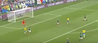 البرازيل فى ربع النهائى بعد الفوز على المكسيك بهدفين