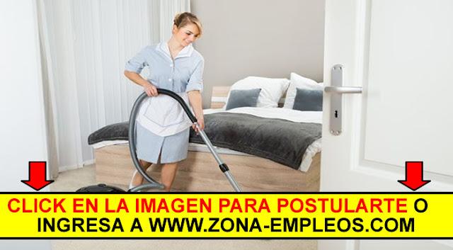 SE BUSCAN MUCAMAS PARA IMPORTANTE HOTEL