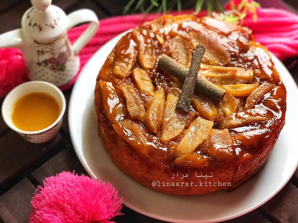 سينابون (فطيرةالتفاح)