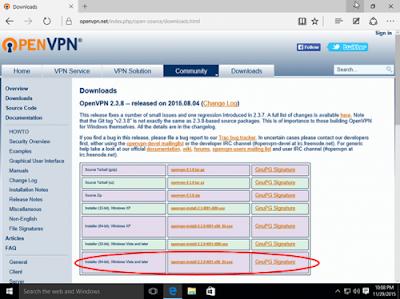 Mengubah Chat kuota menjadi kuota reguler dengan aplikasi OpenVPN