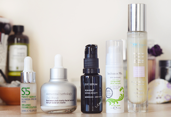 A Spotlight on Serums.