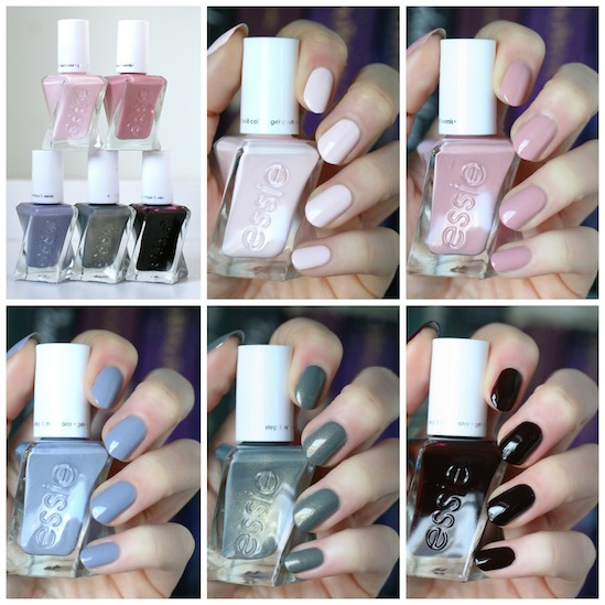 Essie Gel Couture 2018 Enchanted Collection Swatches Comparisons