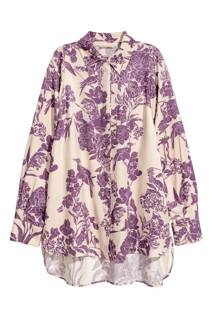 hm camicia di primavera a fiori