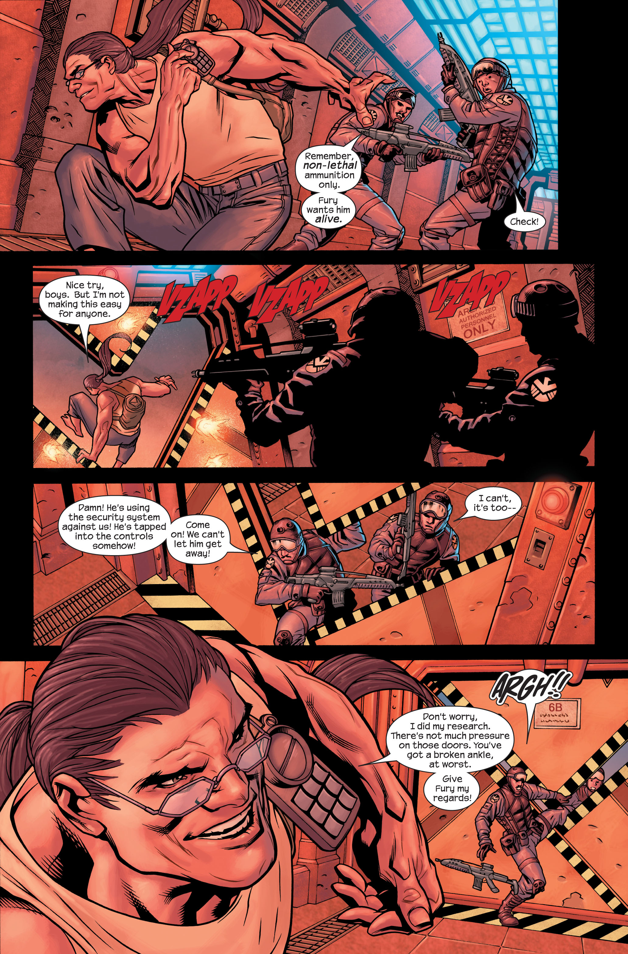 Read online Ultimate X-Men comic -  Issue #85 - 4