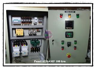 HARGA PANEL ATS AMF 100 KVA / PANEL OTOMATIS GENSET