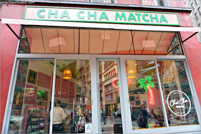 Cafeterías de Nueva York: Cha Cha Matcha