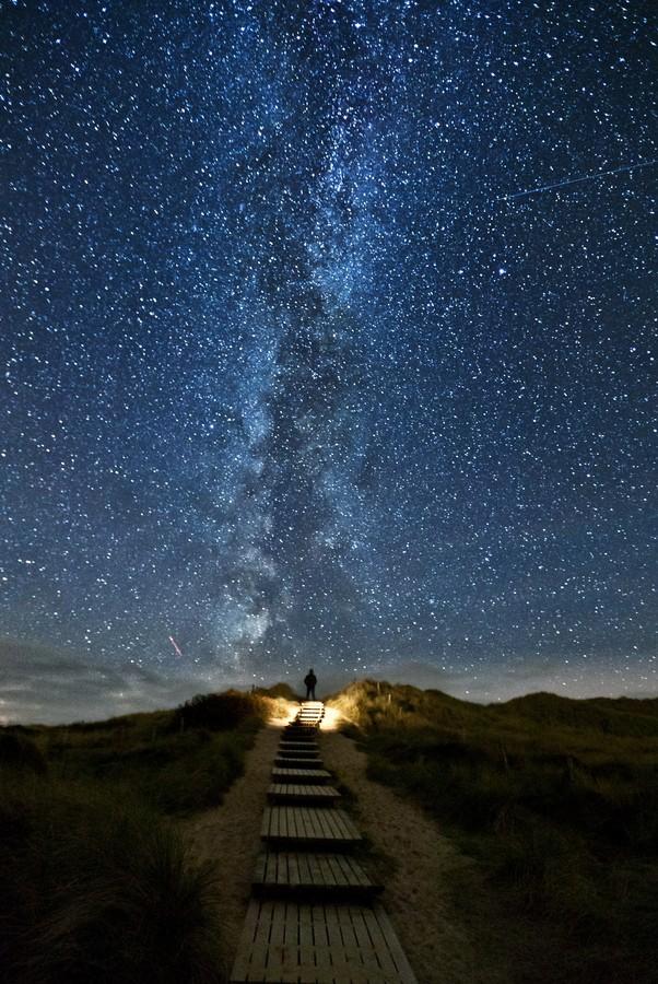 Washable Wallpaper Kumpulan Gambar Bintang Yang Sangat Indah Di Langit Malam