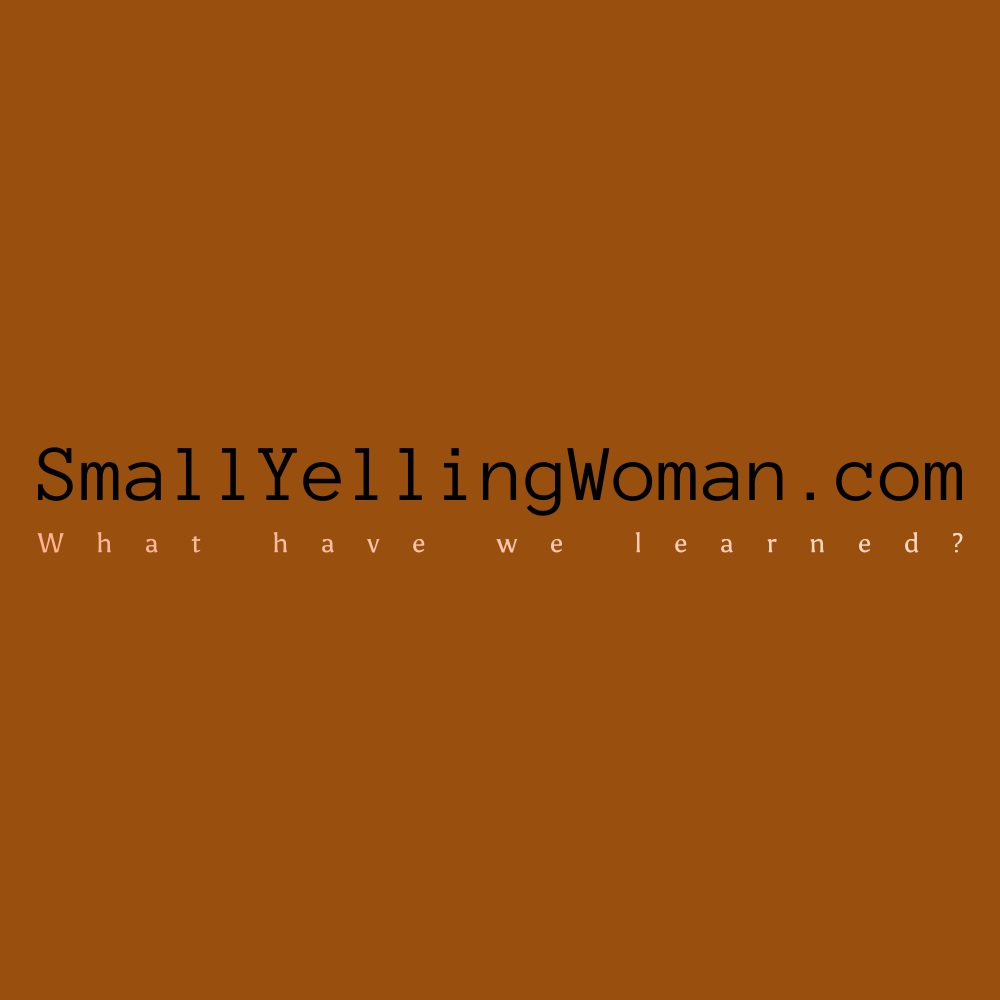 smallyellingwoman