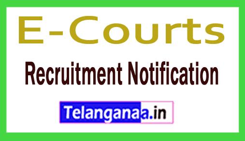 E-Courts District Session Judge Recruitment Notification