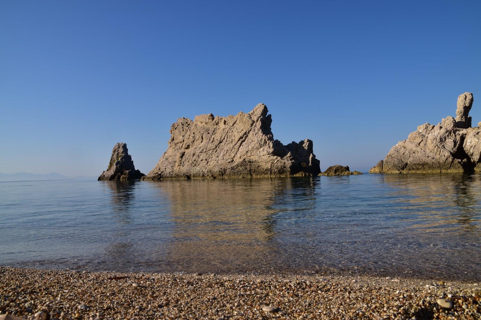 Pláž Artolithia Řecko