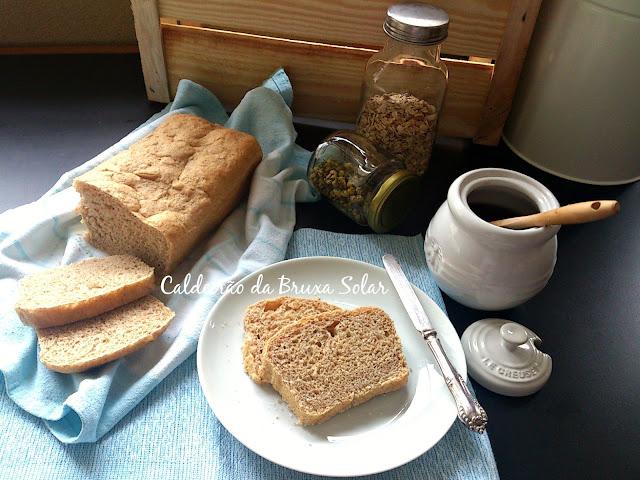 Pão de forma semi integral