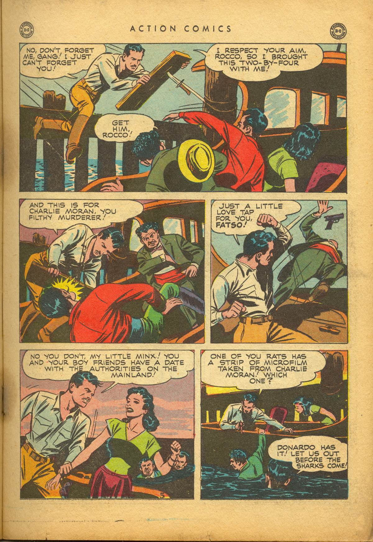 Read online Action Comics (1938) comic -  Issue #112 - 21