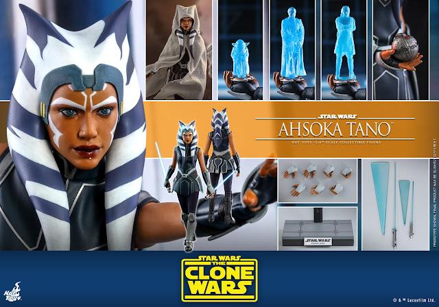 Hot Toys Star Wars The Clone Wars Ahsoka Tano Figure