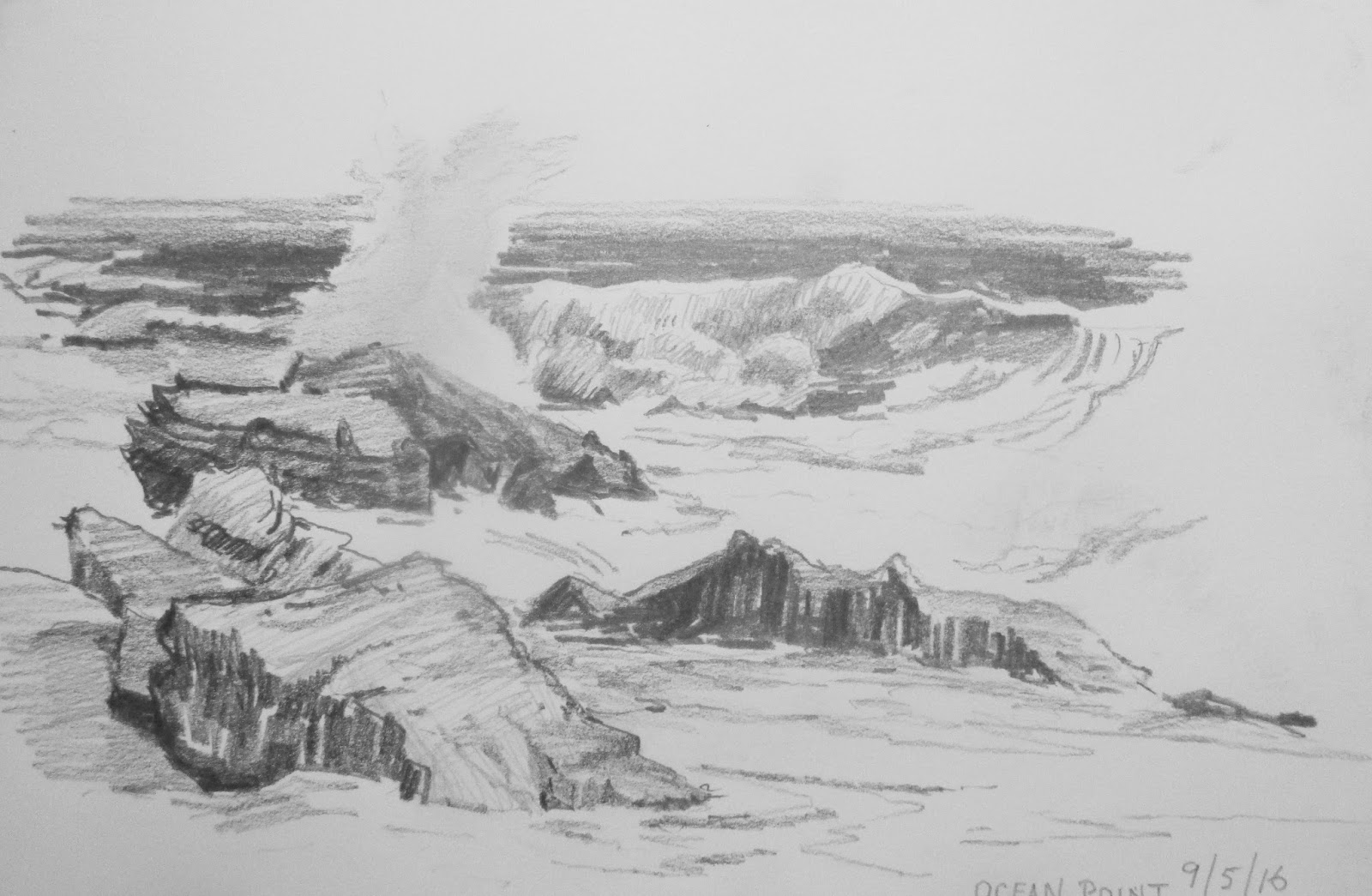 Also The Contrast Of Warmth On One Rock Helps Dramatize Scene Here Is A Value Study Surf