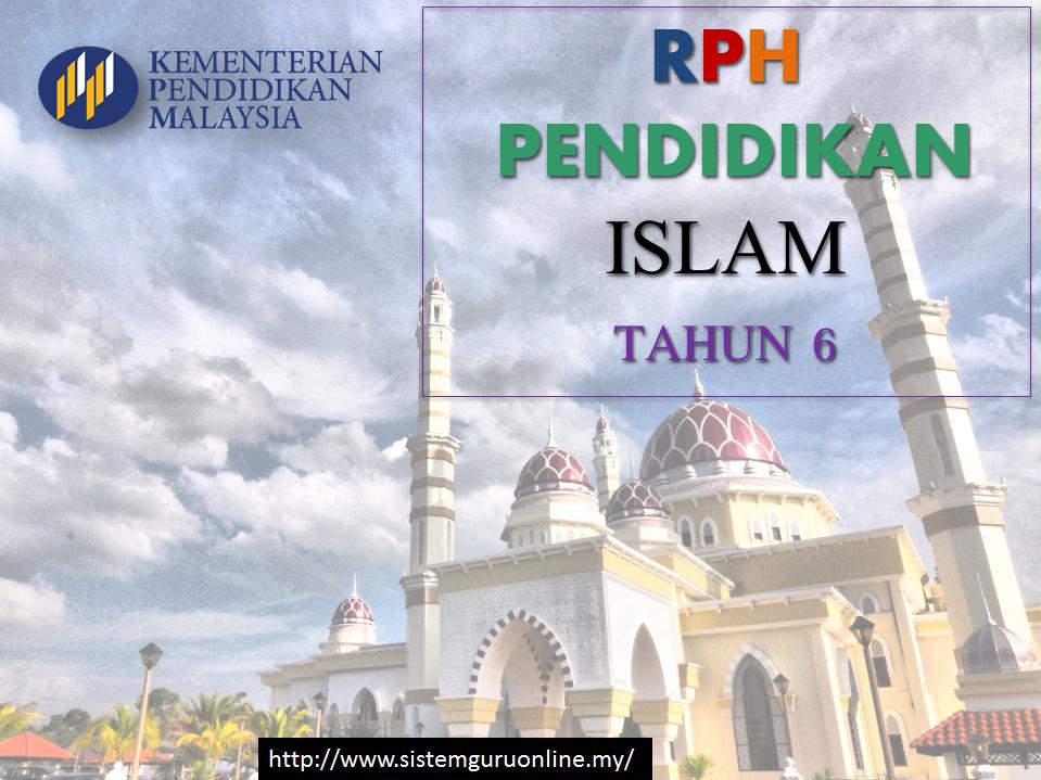Rph Tahun 6 Pendidikan Islam