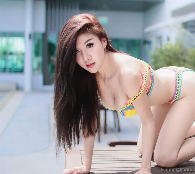 53+ Hình ảnh girl xinh gái đẹp mặc bikini siêu gợi cảm