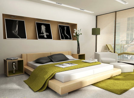 Modern Minimalist Bedroom