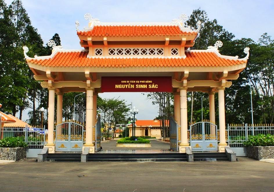 Khu Di tích Mộ Cụ Phó Bảng Nguyễn Sinh Sắc