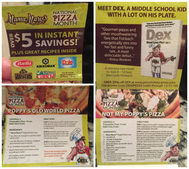 Mama Mary's National Pizza Month Coupons