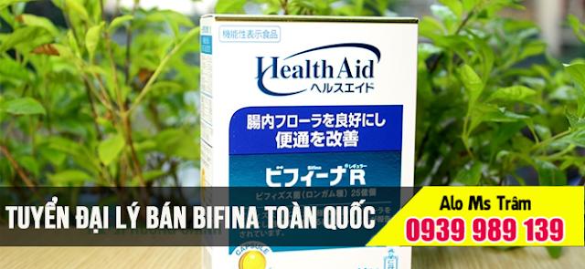 Đại lý bán men vi sinh bifina quận Tân Bình HCM