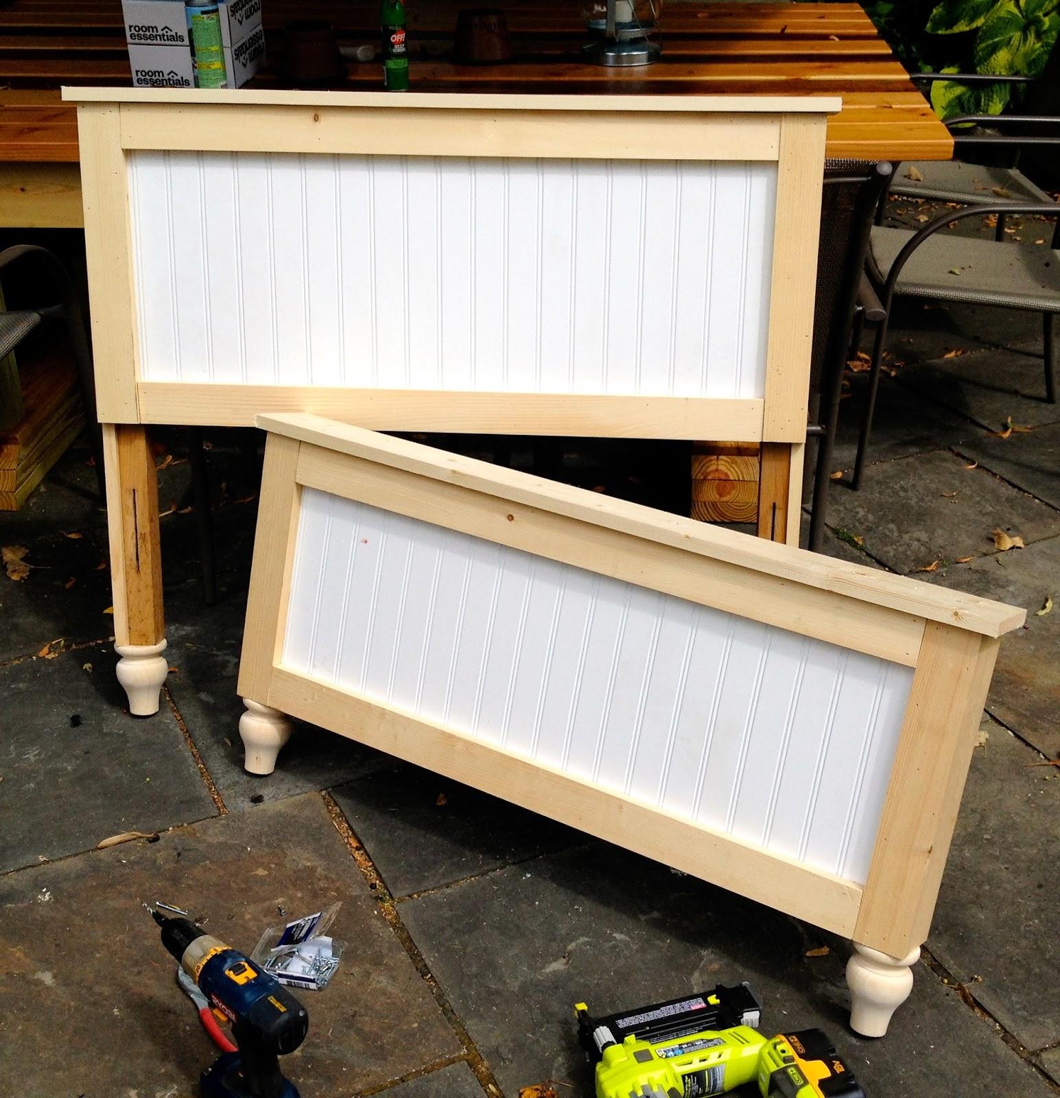 rebuild of headboard and footboard