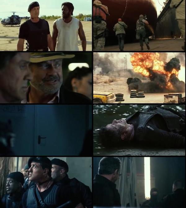 The Expendables 3 2014 Dual Audio Hindi BluRay 480p