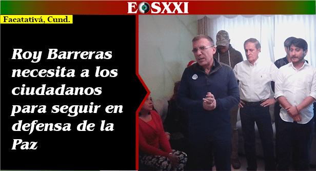 """""""322 menores abusados el año pasado en Facatativá"""": senador Roy Barreras"""