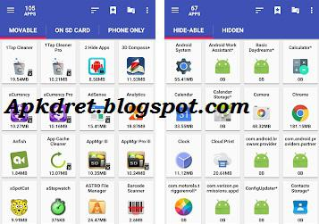 AppMgr Pro III (App 2 SD) 4 73 Paid apk | Apkdret