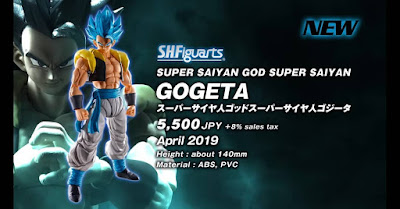 "S.H.Figuarts Gogeta, Broly, Son Goku y Vegeta  de ""Dragon Ball Super: Broly"" - Tamashii Nations"