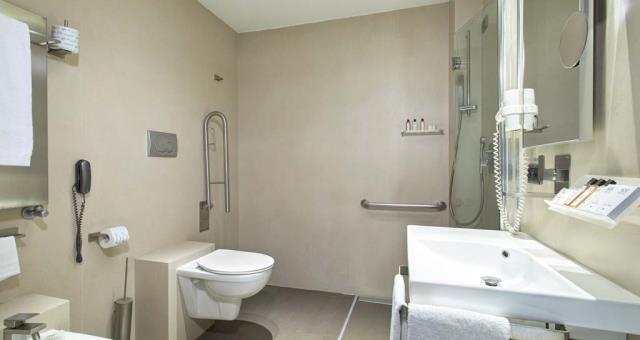 Acessibilidade em hotéis para deficientes físicos em Florença