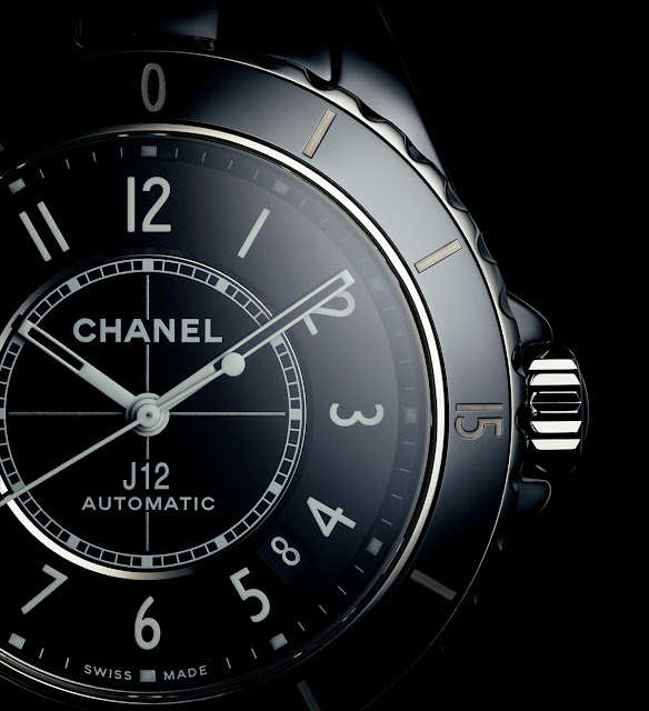 Chanel J12 Watch Black