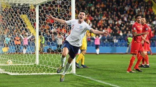 Kualifikasi Piala Eropa: Inggris Bungkam Montenegro 5-1