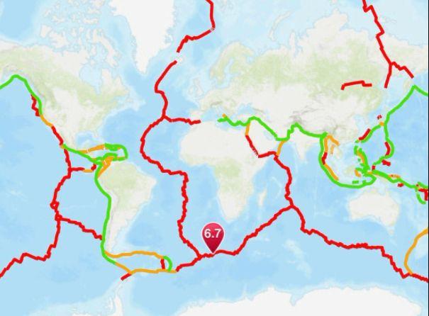 Terremoto Oggi Isola Bouvet: forte scossa vicino l'isola vulcanica sub-antartica