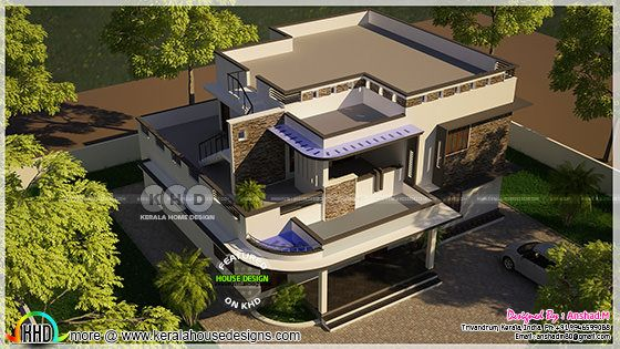 Contemporary home by Anshad.M