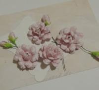 Розы и бутоны из бумаги (МК)