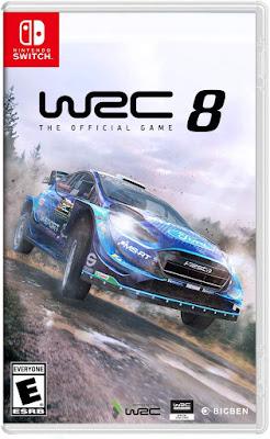 Wrc 8 Fia World Rally Championship Game Cover Nintendo Switch