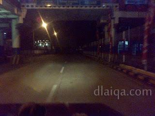 meninggalkan pelabuhan Bakauheni menuju Bandar Lampung
