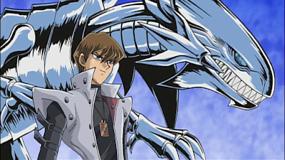 seto kaiba blue eyes white dragon konami yugioh pyramid of light