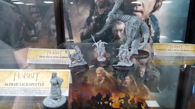 The Hobbit Alfrid Lickspittle, Goat Riders and Armoured Gundabad Troll