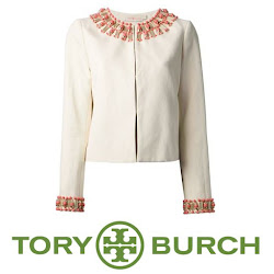 Tory Burch Isabella Jacket Princess Mary Style