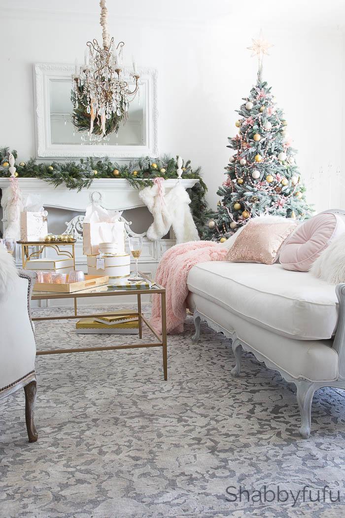 shabbyfufu-blush-gold-modern-french-country-christmas