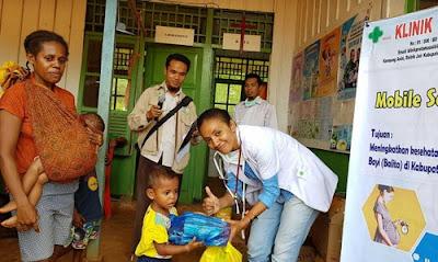 Klinik Asiki, Klinik Terbaik di Papua yang Melayani Masyarakat Terpencil, Terluar dan Perbatasan Papua Nugini