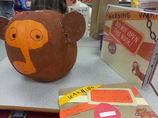 Pumpkin Book Reports- 'Do Not Open This Book'