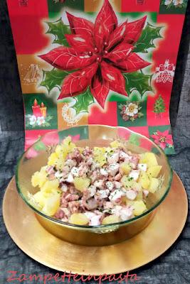 Polpo e patate - ricetta di Natale
