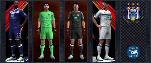 PES 2013 R.S.C. Anderlecht Kit Season 2016-2017