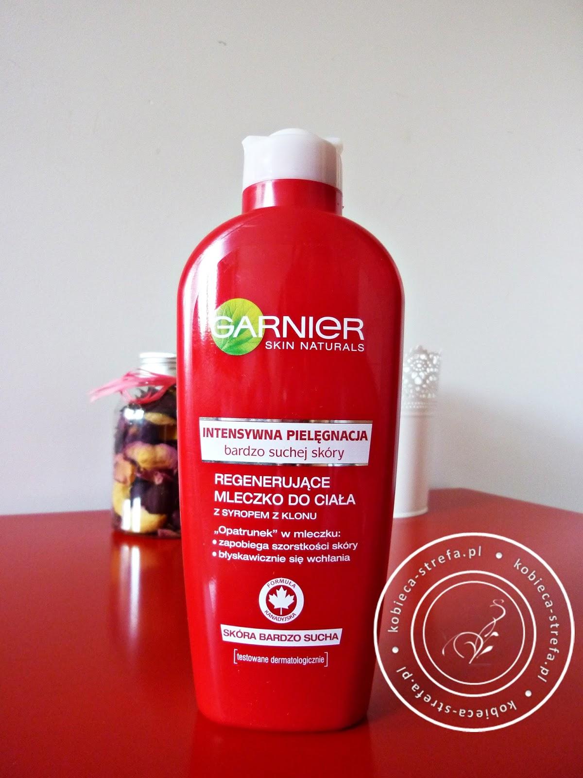 Garnier Skin Naturals – regenerujące mleczko do ciała z syropem klonu – intensywna pielęgnacja bardzo suchej skóry