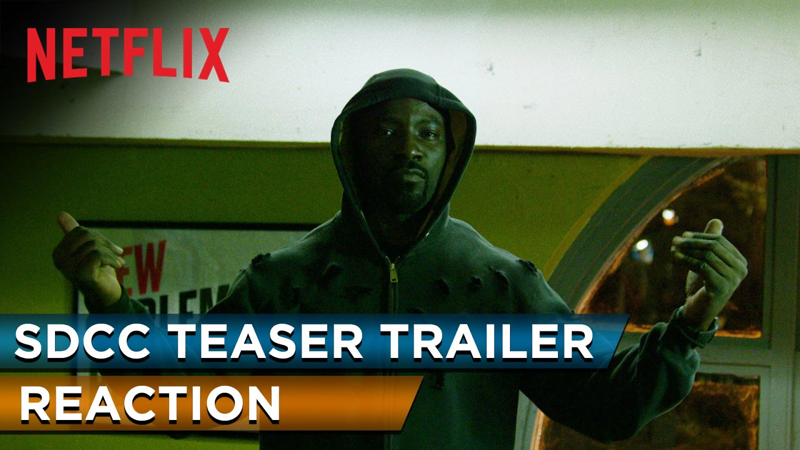 reaction to trailer for Marvel's Luke Cage