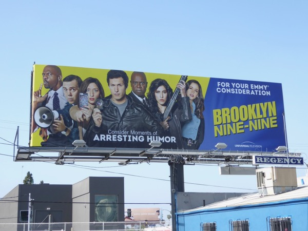Brooklyn Nine-Nine season 4 Emmy 2017 FYC billboard