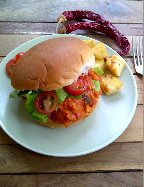 texaanse jalapeno burger
