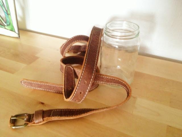cinturones, floreros, reciclar, transformar, proyectos, diys, manualidades